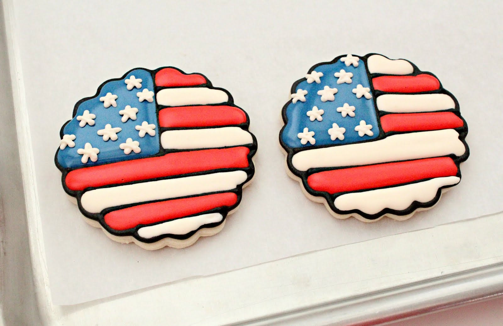39dd4180b463 American Flag Decorated Cookies - Best Picture Of Flag Imagesco.Org
