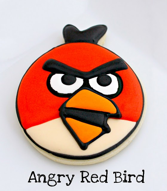 angry bird cookies for sale
