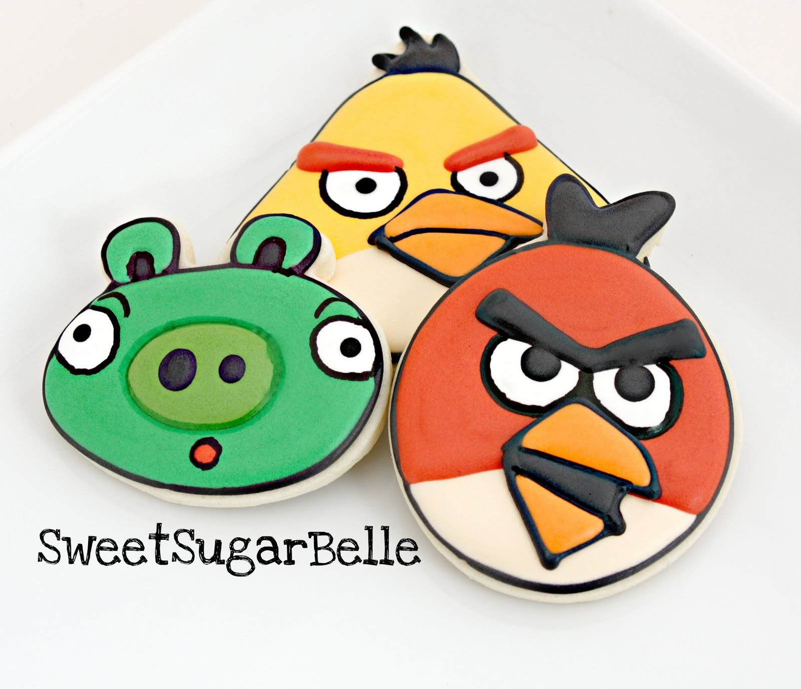 Angry red bird part 3 the sweet adventures of sugar belle - Angry birds trio ...