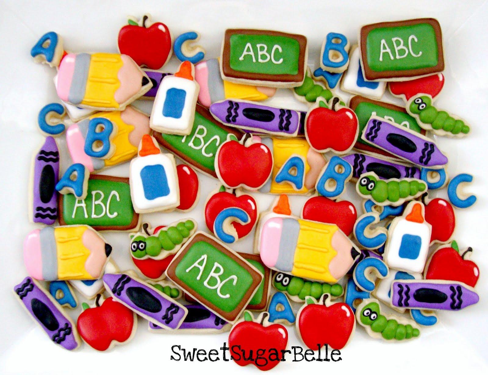 Teacher Appreciation Cookies The Sweet Adventures Of
