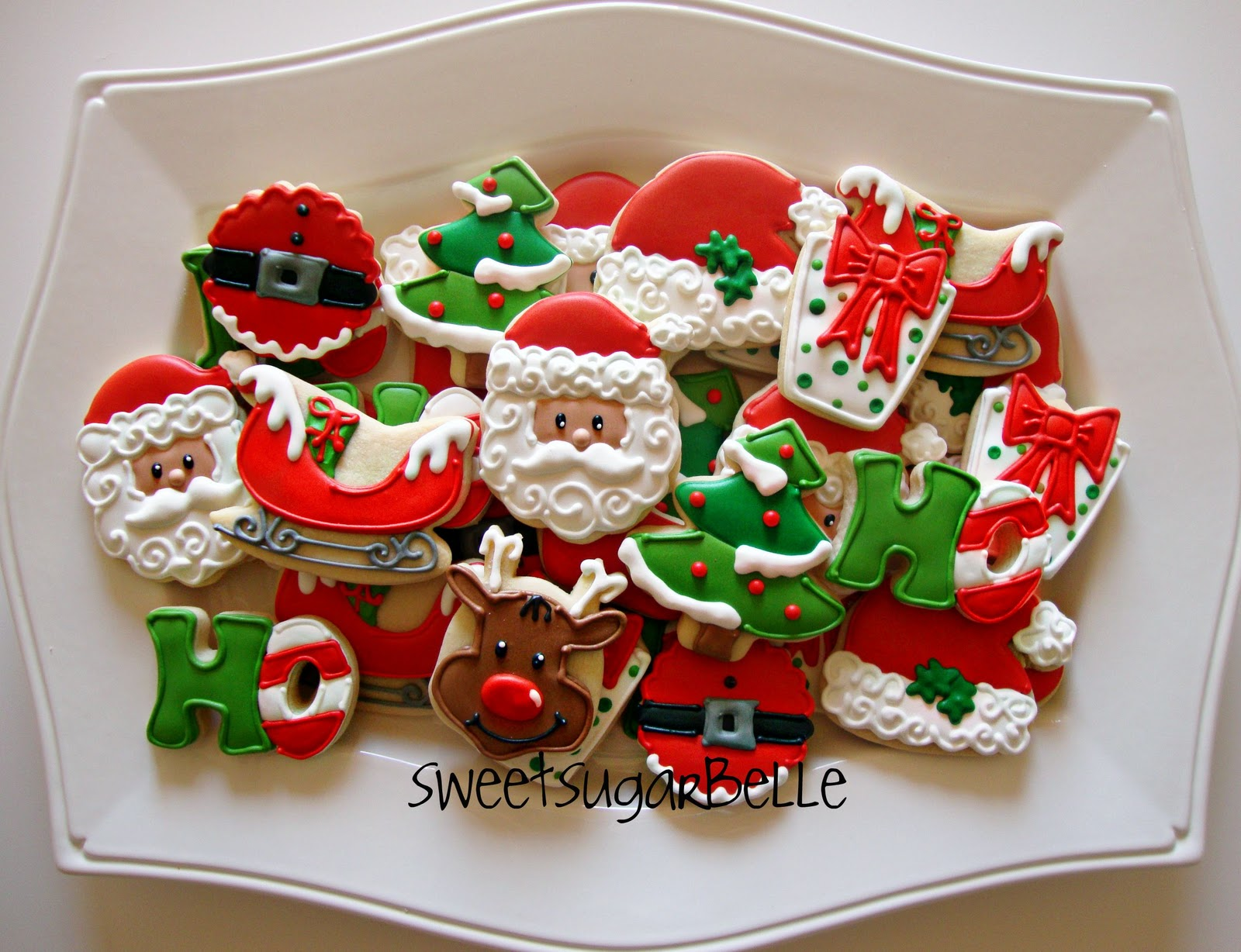 """Here are my cookies for day 25…I call this platter, """"All things ..."""