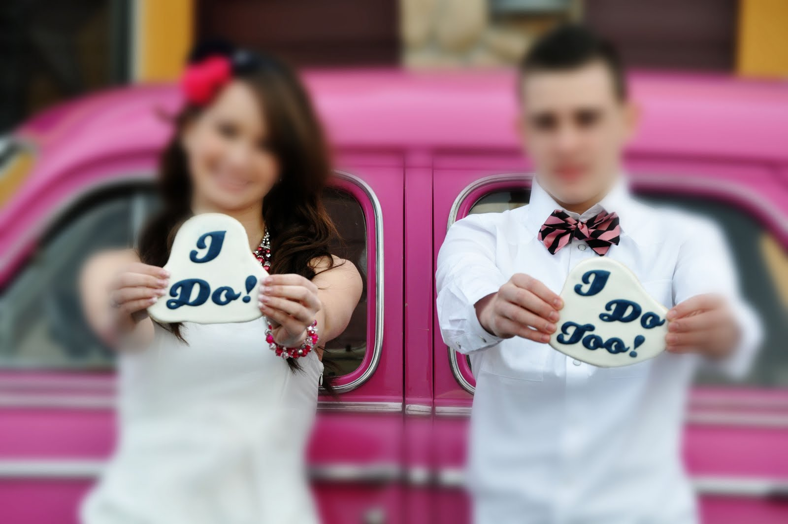 Lilly Pulitzer Inspired Wedding Cookies