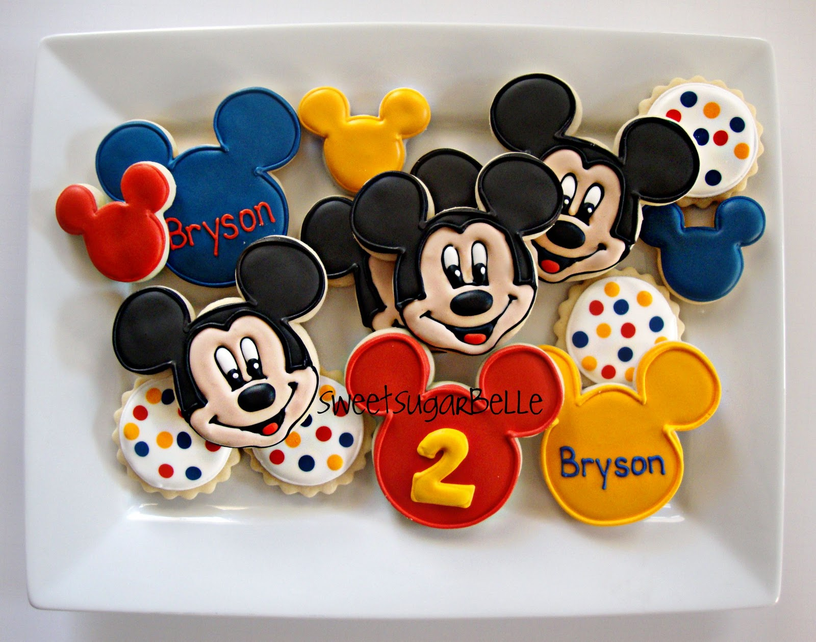 Mickey Mouse Clubhouse Birthday Cake Cutters
