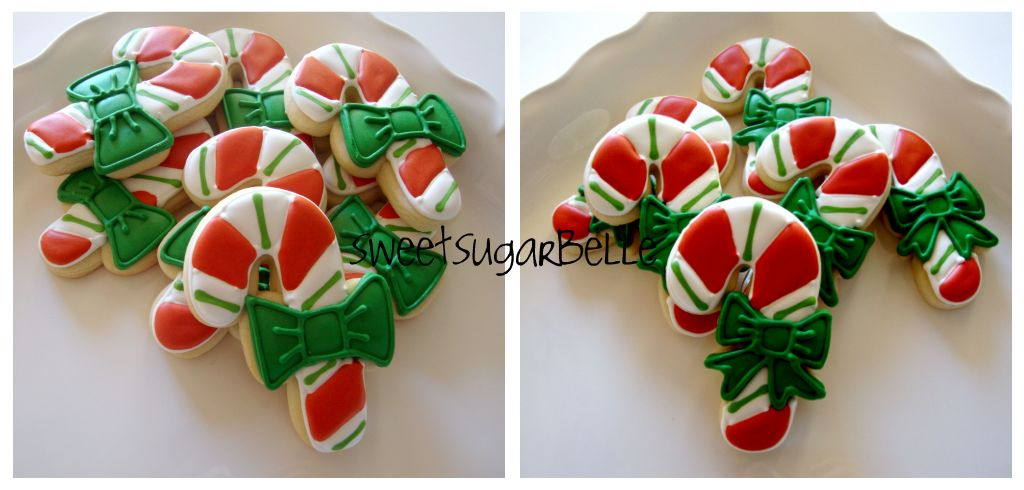Candy Canes With Bows The Sweet Adventures Of Sugar Belle