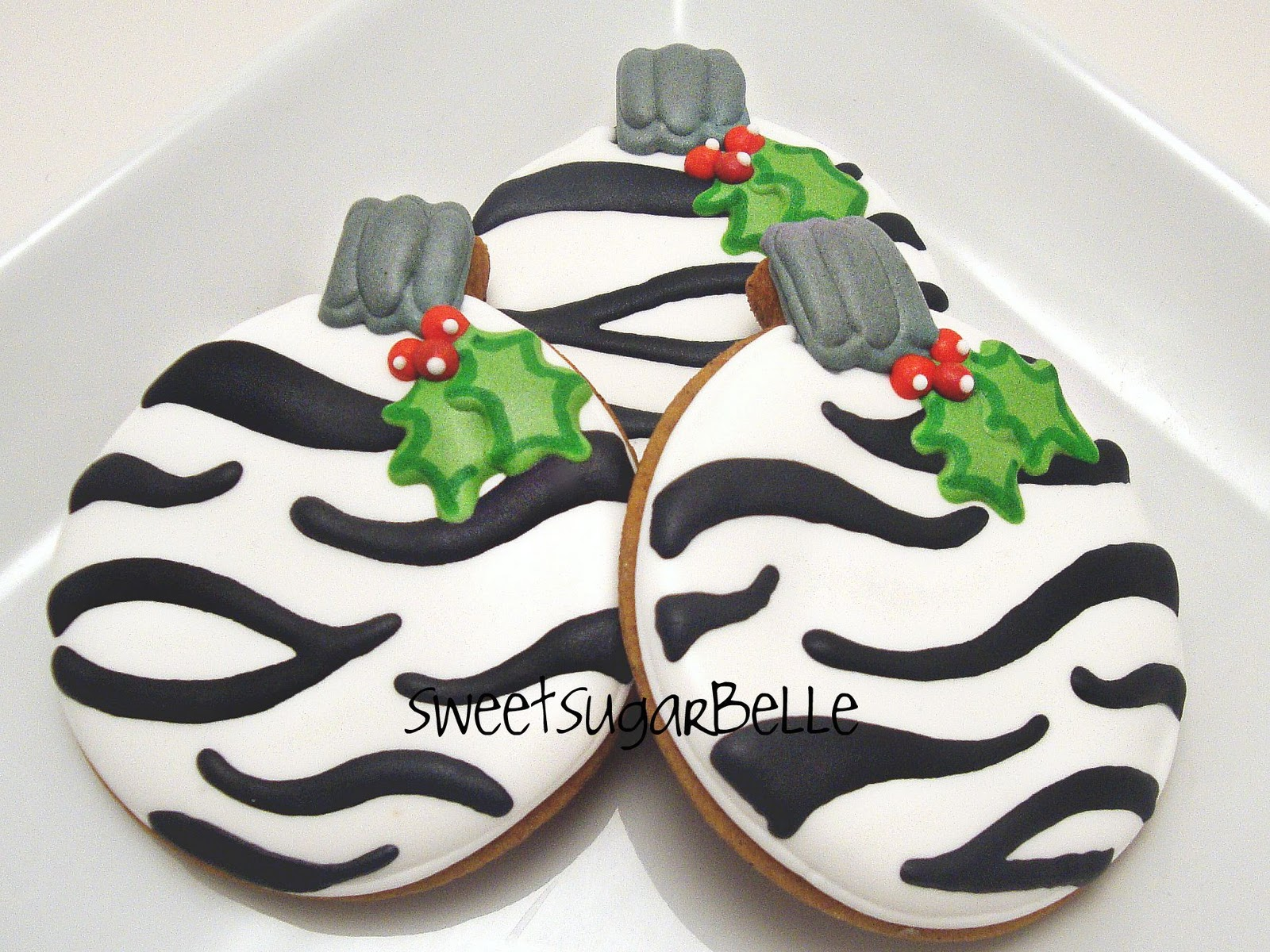 How to Make Zebra Stripe Cookies