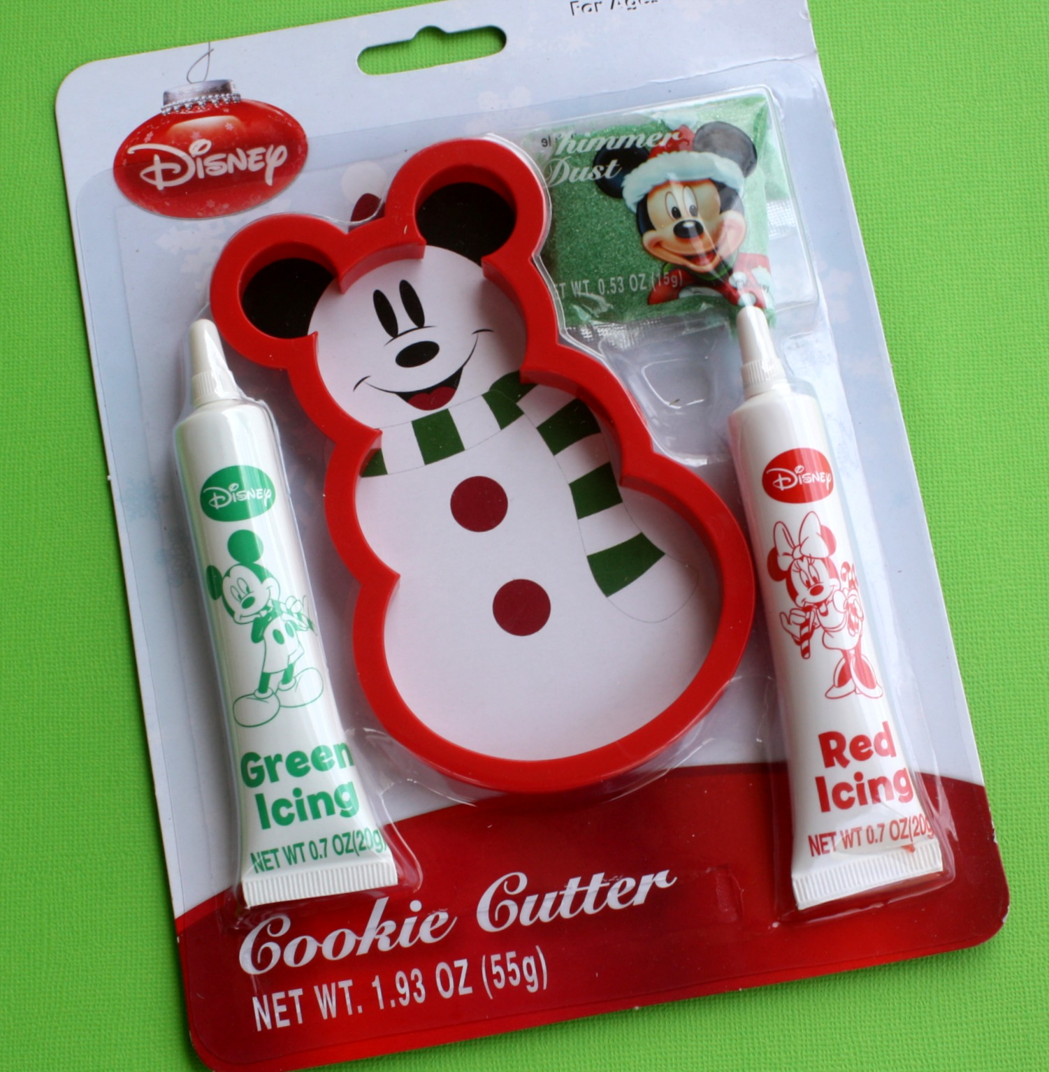 if you arent up for a shopping excursion you can always find these on ebay i saw quite a few but going to walgreens yourself will save you four or five - Mickey Mouse Christmas Cookies