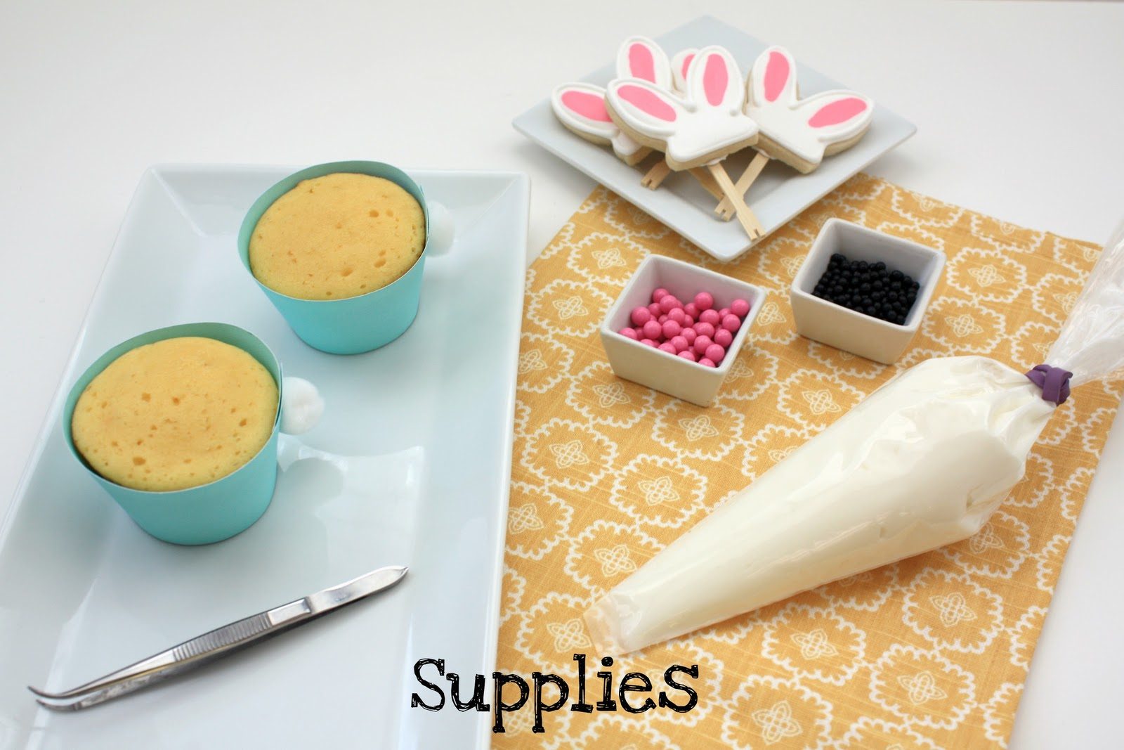 Filling Cupcakes With Pastry Bag a Pastry Bag Filled With